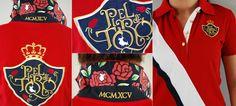 Pétalos de rosas en tu cuello    #rosas #polos #moda #mujer #verano #roses #poloshirts #fashion #Summer