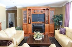 """Living Room designed by """"Homescapes by Lynn"""""""