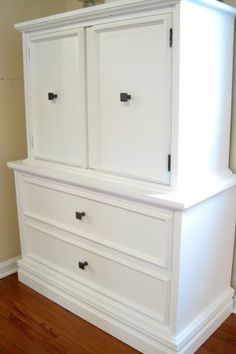 The best method for painting furniture (no brush strokes)