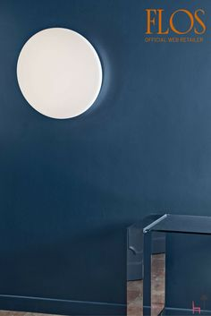 Designed by Piero Lissoni for Flos, Clara is a ceiling/wall lighting fixture, providing diffused light. The front diffuser is made of high efficiency, inje. Wall Lighting, Diffused Light, Ceiling Lamp, Lightning, Diffuser, Doors, Inspiration, Design, Home Decor