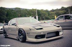1864david: Nissan 180SX S13 - TunedAndRaceCars Slammed Cars, Jdm Cars, My Dream Car, Dream Cars, Nissan 180sx, Nissan Silvia, Drifting Cars, Japan Cars, Car Stuff
