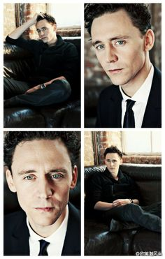Hiddles sexy dark hair <3<<--Hiddles sexy dark everything DARN YOU TOM!!!! Put yourself in a box and ship yourself to me right now!!!