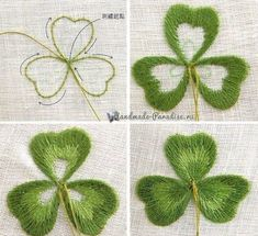 Wonderful Ribbon Embroidery Flowers by Hand Ideas. Enchanting Ribbon Embroidery Flowers by Hand Ideas. Embroidery Leaf, Embroidery Stitches Tutorial, Silk Ribbon Embroidery, Hand Embroidery Patterns, Learn Embroidery, Embroidery Techniques, Embroidery Kits, Cross Stitch Embroidery, Simple Embroidery