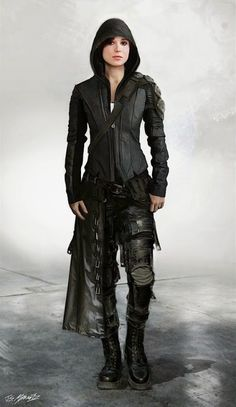 Wanderer | I want this outfit | black, alternative, hunter