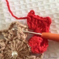 Flor coração passo a passo - croche.com (29)