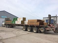 45000 pounds on the 53 trailer.  #MoreThanJustWood #LZDelivers