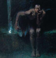 Franz Von Stuck - Lucifer