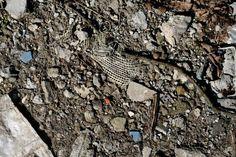 free texture - concrete, garbage, ground, pebble, rubble