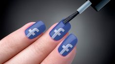 Hey, somebody near the Facebook headquarters willing to go pick this up in the company store for me?  :) Facebook-nail-polish