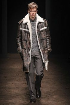 Salvatore Ferragamo Fall 2015 Menswear Fashion Show
