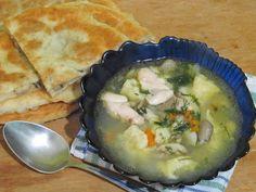 Просто и вкусно: Суп с галушками /лэвеш/