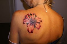 Black tiger lily tattoo for women design idea for men and wo Tattoo Girls, Tattoo Son, Best Tattoos For Women, Cool Tattoos For Guys, Trendy Tattoos, Tiger Lily Tattoos, Lily Flower Tattoos, Tattoo Flowers, Lily Tattoo Design