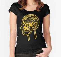 Internal control - Version 2 by enriquev242 womens fitted soop t-shirts Internal control - Take control of your senses and live them. #head #man #driver #gear #mind #machine #circuit #senses #perception #vector #smell #sight #hear #feel #taste #conceptual #thoughts #tshirts #redbubble #prints