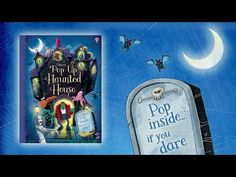 """""""A spook-tacular pop-up haunted house... Enter if you dare... #Halloween #haunted #spooky #popup #book #usborne #children"""