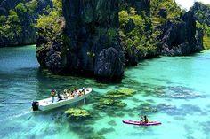 フィリピン最後の秘境エメラルド色に輝く『エル二ド』