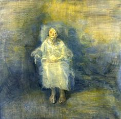 Celia Paul, the Artist's Mother, oil on canvas