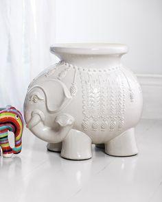 Nursery - Ceramic elephant Ellie Side TableEllie Side Table