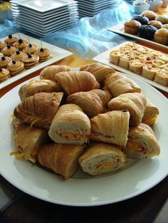 Croissants with Ham & Cheese