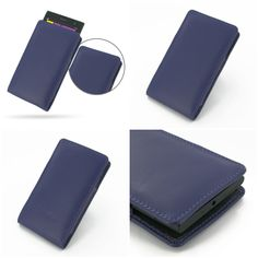 PDair Leather Case for Nokia Lumia 1020 - Vertical Pouch Type (Purple)