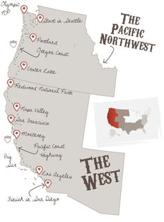 Ultimate west coast road trip