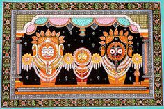 Buy the unique shri jagannath patachitra in your reasonable price. For more information please visit our website or call us our number.
