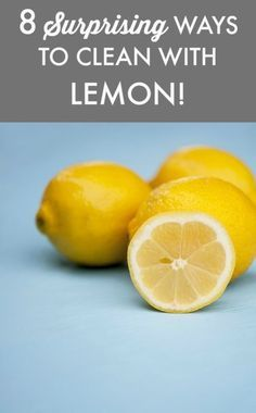 This lemon hack can really add to your summer BBQ, and it has nothing to do with flavor. 8 surprising ways lemons can keep your home spick and span.
