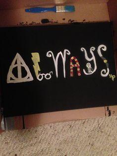 Harry Potter Canvas