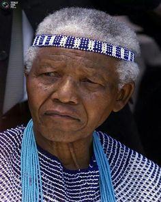 Nelson Mandela.  Peaceful warrior.