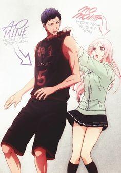 Aomine Daiki & Momoi Satsuki | Kuroko no Basket #anime