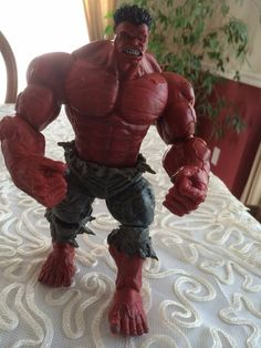 "Marvel Legends The Avengers Incredible Hulk Red Hulk Action Figure 10"" #MarvelToys"