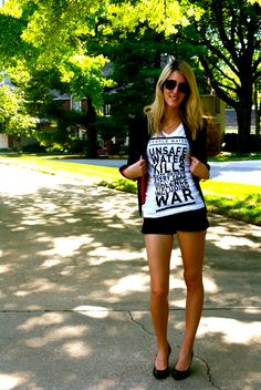 i found this online! i really need to get myself a @People Water t-shirt :)    {http://www.truffles-ruffles.com}