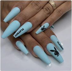 In search for some nail designs and some ideas for your nails? Here's our listing of must-try coffin acrylic nails for fashionable women. Nails Polish, Aycrlic Nails, Swag Nails, Pedicure Nails, Simple Acrylic Nails, Blue Acrylic Nails, Marble Nails, Acrylic Nail Designs For Summer, Acrylic Nail Designs Coffin