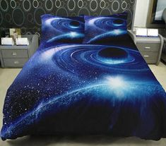 Anlye Galaxy Quilt Cover Galaxy Duvet Cover Galaxy Sheets Space Sheets Outer Space Bedding Set Bedspread with 2 Matching Pillow Covers (FULL) Bedroom Themes, Bedroom Decor, Bedrooms, Outer Space Bedroom, Galaxy Bedding, Architecture Design, Comfy Bedroom, Luxury Bedding Sets, Modern Bedding