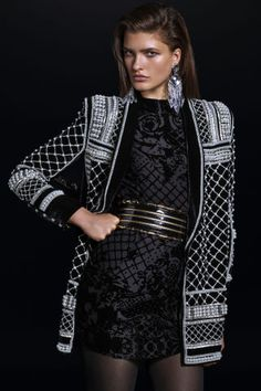 Click through to see the entire Balmain for H&M collection: