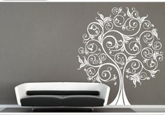 Family tree wall decal lucky tree decal wall decals by LovinDIY, $64.99
