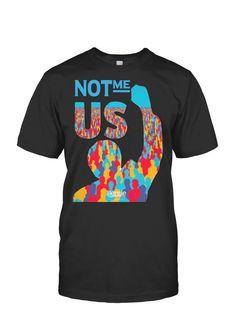 Not Me Us T-Shirt -Bernie Sander 2016- Feel The Bern