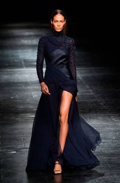 You can always rely on Prabal Gurung for a dose of elegant eveningwear - see the #NYFW show: http://uk.bazaar.com/1aMFz29