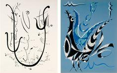 Il Lirismo dell'Alfabeto, un homenaje al abecedario, de 50 láminas realizadas en las más diversas técnicas de la estampa. A cada letra está dedicado un grabado en color y uno en blanco y negro, ambos firmados y numerados por Alberti. http://tienda.circulodelarte.com/obra-grafica-original/22-rafael-alberti-il-lirismo-dell-alfabeto.html