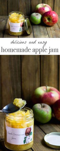 Homemade Apple Jam Recipe via MonPetitFour.com