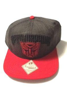 Transformers Hat Cap Red Prime Snapback Hat Comics Costume Cosplay Marvel  Hat  Bioworld  BaseballCap. Snapback Empire · Transformers Hats   Snapbacks b021138a70f0