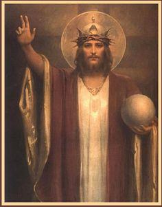 Jesucristo, Rey del universo. ~ KING OF THE UNIVERSE