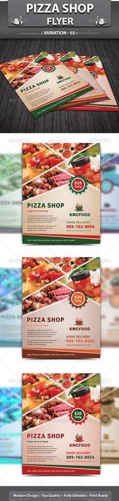 Restaurant Business Flyer | Volume 2