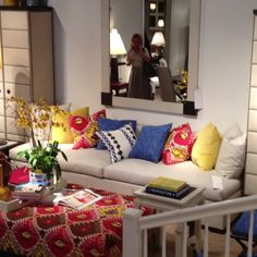 New @habletextiles fabrics exclusive to @hickorychairco #hpmkt