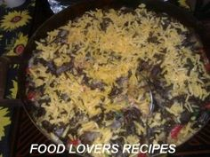 Page not found - Food Lovers Recipes Braai Recipes, Meat Recipes, Recipies, Cooking Recipes, Flavored Rice, Biltong, Grated Cheese, African Recipes, Afrikaans