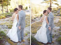 Photography by Emily Heizer Photography, Lake Tahoe #HideOut wedding.