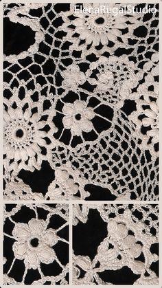 Irish Crochet, Crochet Lace, Irish Lace, Simple Designs, Needlework, Kids Rugs, Youtube, Beauty, Simple Drawings