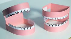 Make a Mouth Model with your students to help them learn about their teeth.
