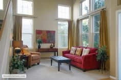 Room Solutions - Maureen Bray - Hillsboro Oregon home on the market for months . then staged by Room Solutions and sold in a few weeks! Hillsboro Oregon, Home Staging Tips, Outdoor Furniture Sets, Outdoor Decor, Portland Oregon, Sweet Home, Real Estate, Homes, Curtains