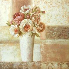 Villeneuve-Floral-Patterns-1-Blumen-Fertig-Bild-40x40-Wandbild
