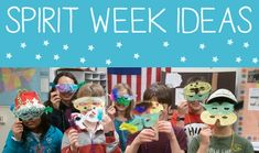 15 Spirit Week Ideas for School - Art is Basic. This has great ideas for school store and dance themes! Spirit Week Themes, Spirit Day Ideas, Spirit Weeks, School Week, Art School, School Stuff, School Ideas, Summer School, Art Lessons Elementary
